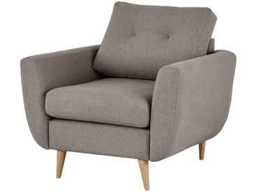 finya Retro-Sessel beige - Stoff Harris ¦ beige ¦ Maße (cm): B: 88 H: 85 T: 85 » Höffner