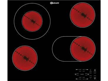 Bauknecht Glaskeramik-Kochstelle  CTAR 9642 IN ¦ schwarz ¦ Edelstahl, Glas  ¦ Maße (cm): B: 56 H: 4,6 T: 49 » Höffner