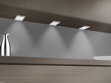 kalb | LED Unterbauleuchte 6Watt SET Sensor Küchenleuchte Einbauspot Einbaustrahler