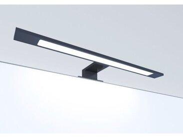 LED Badleuchte schwarz 450mm Spiegellampe Spiegelleuchte Aufbauleuchte