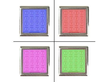 LED RGB Vitrinenbeleuchtung Glasbodenbeleuchtung Möbelleuchte Schrankleuchte SET
