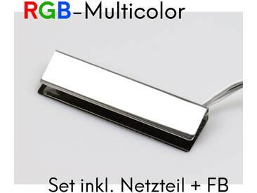 LED RGB Glaskantenbeleuchtung Glasbodenbeleuchtung Vitrinenbeleuchtung Clip Glas