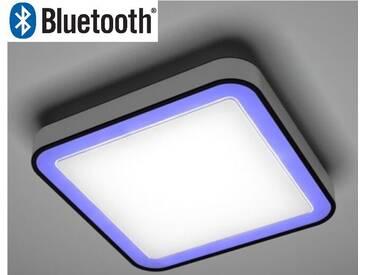 LED RGB Deckenleuchte dimmbar Bluetooth warmweiß SMART Ios Android Wohnzimmer