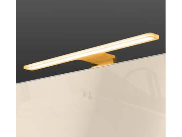 LED Badleuchte (Farbwechsel) + Powerbox 600mm Spiegelleuchte Aufbauleuchte Acrylglas verchromt