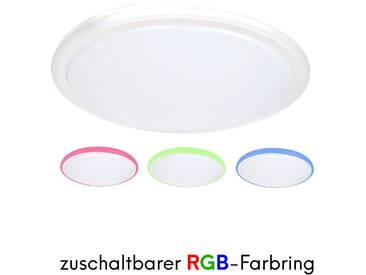 LED Deckenleuchte Farbwechsel RGB Deckenleuchte Designleuchte Wohnzimmer
