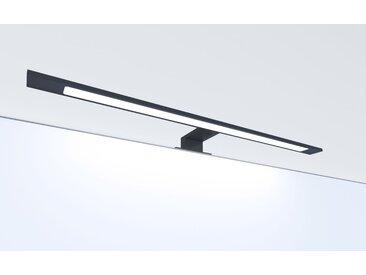 kalb | LED Badleuchte schwarz 600mm Spiegellampe Spiegelleuchte Aufbauleuchte