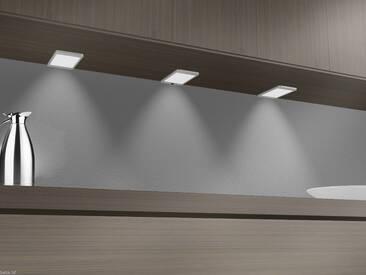 LED Unterbauleuchte 6Watt SET Sensor Küchenleuchte Einbauspot Einbaustrahler