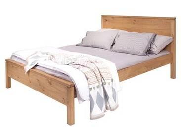 Holzbett Soho 140 x 190 cm, Preis inkl. Lattenrost & Kopfbrett