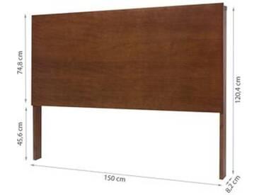 Bettkopfteil Linea 150cm - Farbe Karamell oder Weiß