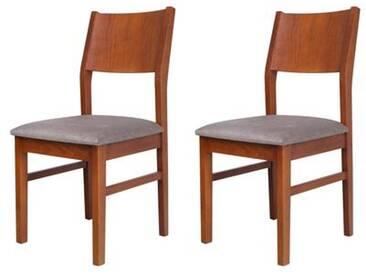 Stühle Lotus 2er/pck Gepolstert