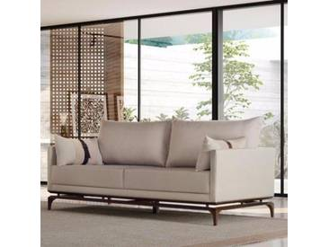 Sofa Alforge mit Leder Details