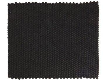 Jessica - rechteckig: 80cm x 100cm Kaufen Sie Online Designer Nepal Teppiche in schöne schwarze Farbe (kostenloser Versand)