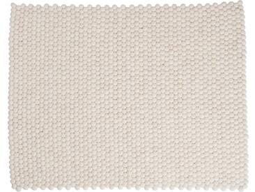Shirisha - rechteckig: 15cm x 20cm Pure White skandinavischen Designer Teppich aus Wolle handgefertigte,Ausverkauf
