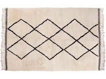 Aicha: 250cm x 300cm 25% Sale: Beni Ourain Teppiche, Berber Wollteppiche mit Diamant-Muster, Online Kaufen