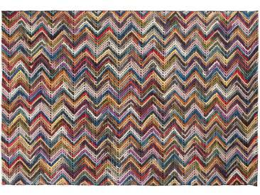 Sai: Custom Size Missoni Teppich, mehrfarbig, italienischer Designer Teppich, bunte Wollteppiche