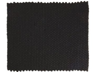 Jessica - rechteckig: 100cm x 140cm Kaufen Sie Online Designer Nepal Teppiche in schöne schwarze Farbe (kostenloser Versand)
