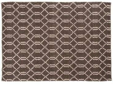 Sharwan: 200cm x 300cm dunkelgrau gewebter Teppich, schöne indische Teppiche, Wohnzimmer
