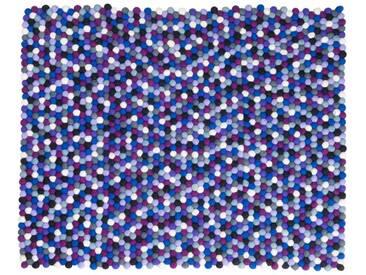 Manna - rechteckig: 15cm x 20cm Königliche lila Rechteck Teppich aus Nepal online bestellen von Makers