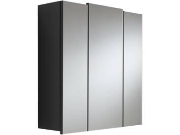 Spiegelschrank TALONA-02 anthrazit, B x H x T 68 x 71 x 20 cm