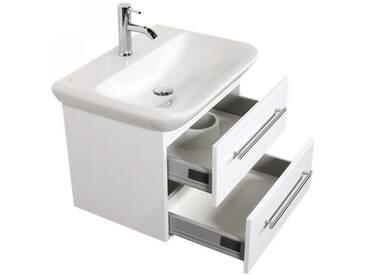 Waschtisch KERAMAG MyDay Hochglanz weiß 65 x 45 x 48 cm