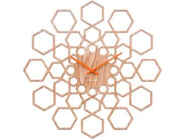 Karlsson Sunshine Hexagon Wanduhr