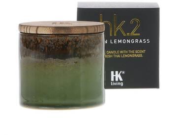 HK living ceramic soya hk2 Duftkerze - Asian Lemongrass