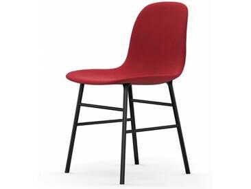 Normann Form Black Stuhl Textil-gepolstert steelcut trio