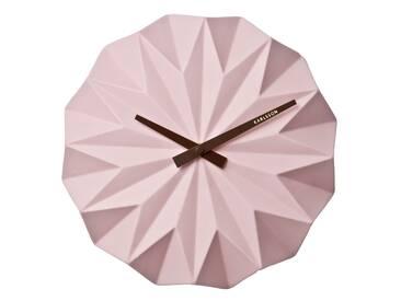 Karlsson Origami Wanduhr