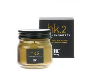 HK living glass soya hk2 Duftkerze - Asian Lemongrass