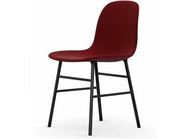 Normann Form Black Stuhl Textil-gepolstert breeze fusion