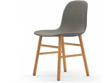 Normann Form Oak Stuhl Textil-gepolstert fame