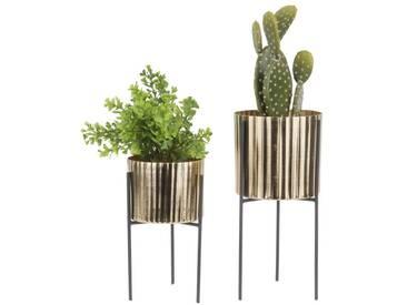 Present Time STILT Blumentopf-Set mit Ständer