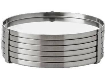 stelton AJ Untersetzer 6er-Set designed by Arne Jacobsen