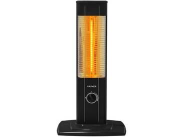 VASNER StandLine Mini 12 Infrarot-Standheizstrahler Carbon 1200 Watt, Thermostat