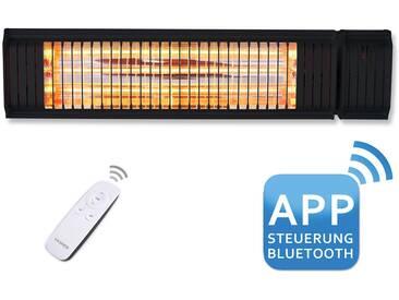 VASNER Heizstrahler Terrassenstrahler Appino 20 Black 2000 W App Steuerung - schwarz