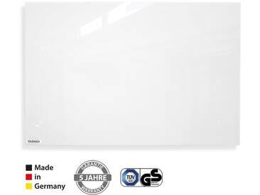 VASNER Zipris GR Glas-Infrarotheizung 400 / 700 / 900 Watt rahmenlos weiß, Made in Germany