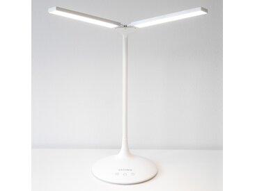VASNER Splitty weiß LED Schreibtischleuchte 6,5 W dimmbar Tageslicht Touch