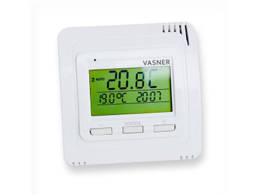 VASNER Funk-Thermostat VFTB, Sender mit Display für Infrarotheizung und Elektroheizung