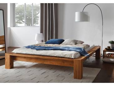 Massivholzbett Bett Hasena Cortina Wildeiche ohne Kopfteil