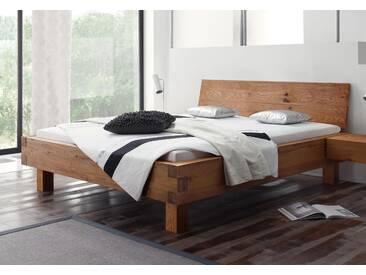 Massivholzbett Hasena Oak-Line Wild Bett Pilatus