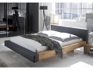 Polsterbett Hasena Selection Bett Ezzano in Echtleder oder Stoff