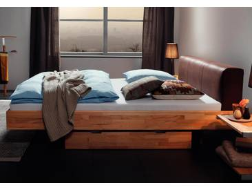 Massivholzbett Hasena Wood-Line Bett Ceneri