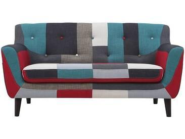 2-Sitzer Sofa Patchwork, Premium