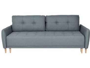 Couch Torso, Schlafsofa, mit Bettkasten, grün
