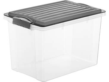 Stapelbox A4, Hoch Compact, 19l Rotho