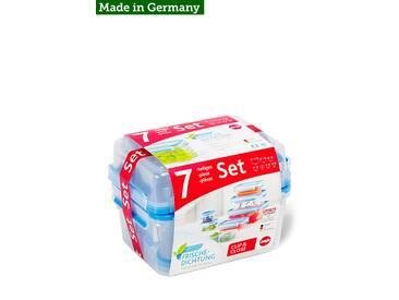 Frischhaltedosen-Set Clip & Close, 7-teilig Emsa
