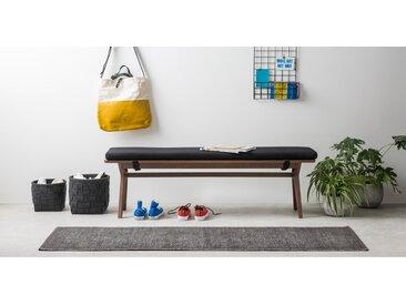 MADE Essentials Asana Laeufer (66 x 200 cm), Anthrazit