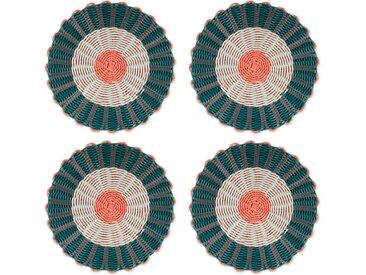 4 x Ariba Tischsets, Mehrfarbig