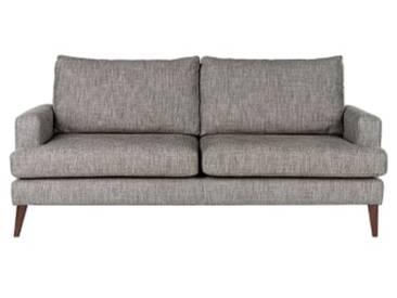 Content by Terence Conran Hewitt 3-Sitzer Sofa, Kieselgrau