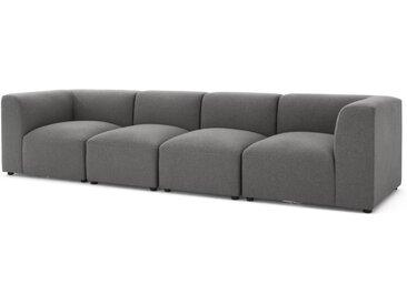 Juno modulares Sofa, Marlgrau